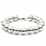 Bling Jewelry Sterling Silver Beads Bracelet 7.5 Inch