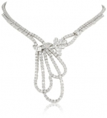 CZ by Kenneth Jay Lane Special Occasion Triple Swag 16 Cubic Zirconia Necklace
