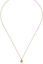 Satya Jewelry Classics Mini Lotus Necklace, 18