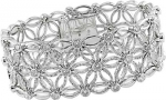 18k White Gold 7 1/5ct Diamond Bracelet (G-H-I, SI )