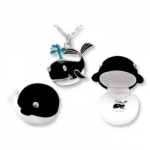 Whale Pendant Necklace in Figural Gift Box